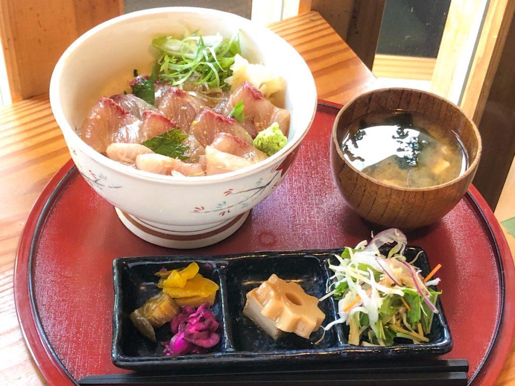 アジ丼御膳 魚上松 ランチメニュー 江戸川区 都営新宿線 グルメ 篠崎