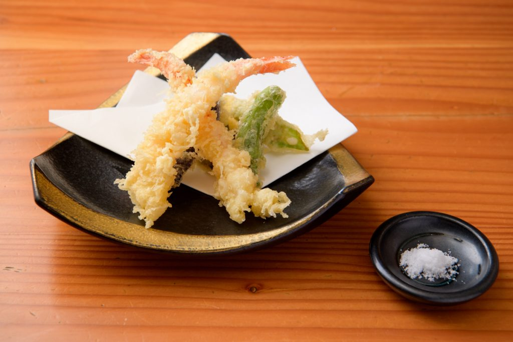 魚上松 天ぷら盛り合わせ ディナーメニュー 江戸川区 篠崎 都営新宿線 グルメ