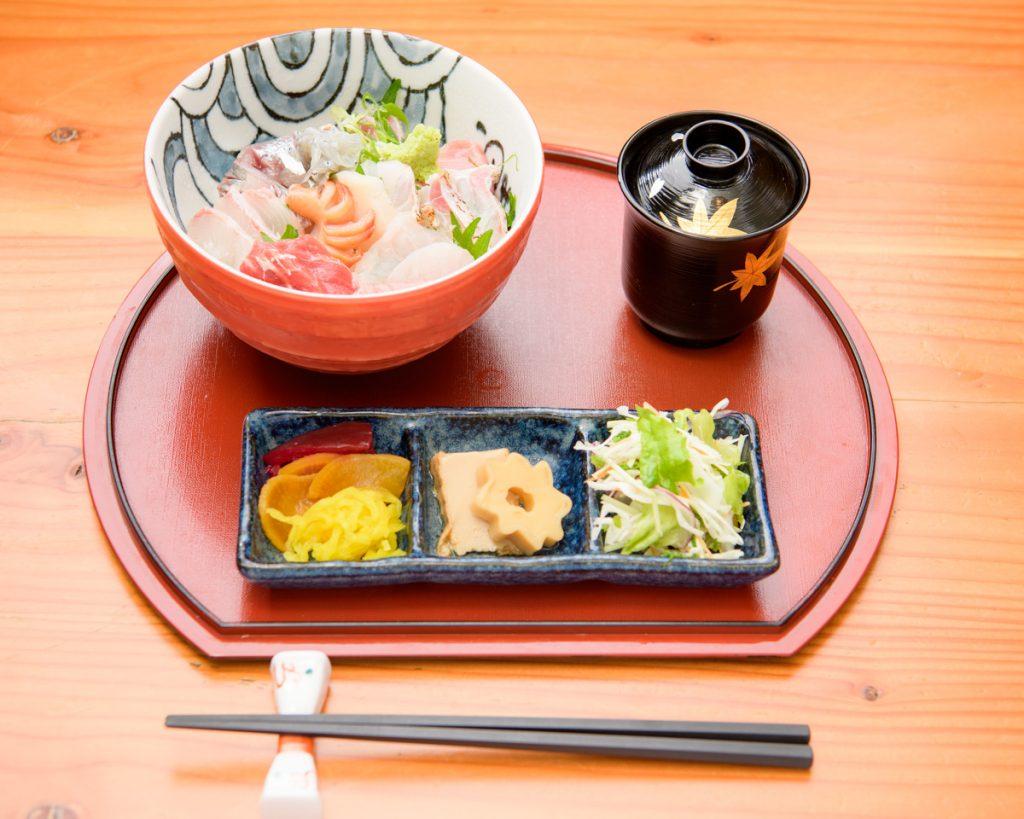海鮮丼御膳 魚上松 ランチメニュー 江戸川区 都営新宿線 グルメ 篠崎