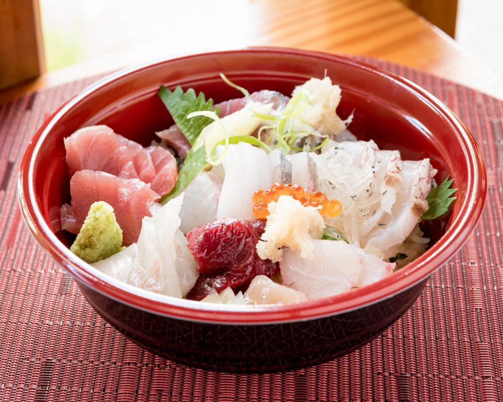 海鮮丼 テイクアウト